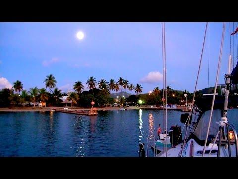 British Virgin Islands - FULL MOON PARTY!! - In Tortola, BVI on Trellis Bay Beach, CARIBBEAN!