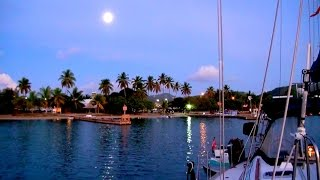 British Virgin Islands - Full Moon Party!! - In Tortola, Bvi On Trellis Bay Beach, Caribbean!