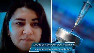 Anilú Jiménez es una abogada que, preocupada por proteger la salud de su hijo, comenzó una demanda de amparo y logró que lo vacunaran el 9 de septiembre pasado, convirtiéndose así en el primer adolescente varón en ser inmunizado contra el Covid-19 en Puebla.  www.eluniversalpuebla.com.mx