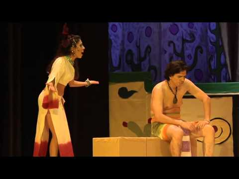 """""""Zyanya"""", first part of the musical triptych """"Myths"""" (Mitos)."""