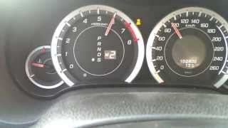 Honda Accord 2.0 i-Vtec Executive OV 0-100 km