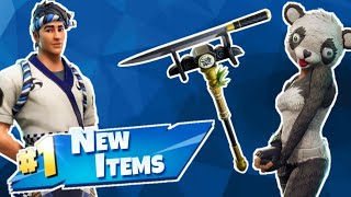 Fortnite NEW Panda & Chef Skin! NO MIC