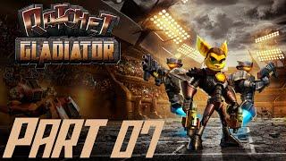 Let's Play Ratchet Gladiator #07 [Deutsch/BLIND/HD] Der Ausschlachter