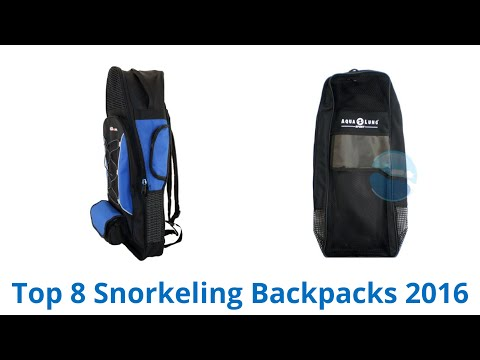 8 Best Snorkeling Backpacks 2016