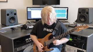 Artizan - The Endless Odyssey guitar solo playthrough