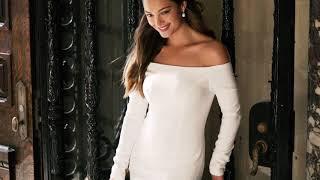 Clean & Modern Bridal Dresses | David's Bridal Spring '20 thumbnail