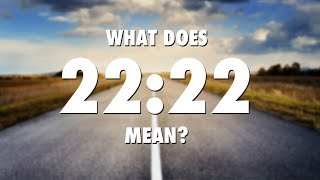 2222 angel number meaning video clip