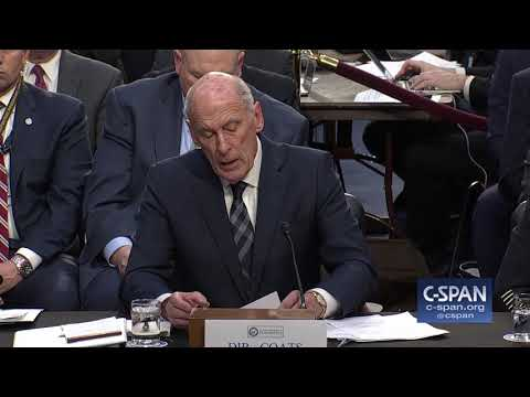 Word for Word: DNI Coats provides update on North Korea and Iran (C-SPAN)