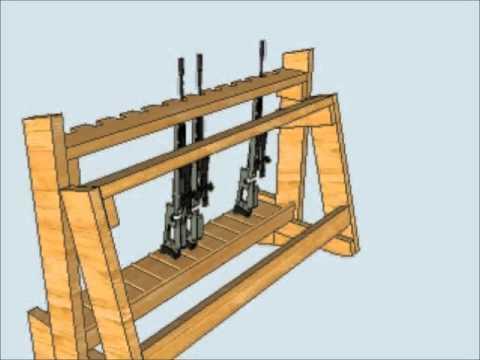 Best 13 Gun Rack Plans Wood Pdf Video Free Download
