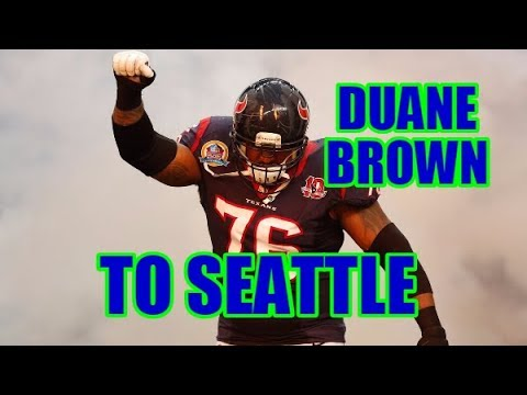 DUANE BROWN TO SEATTLE? Philly NEEDED that guy! My thoughts...