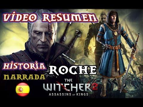 Videoresumen ESPAÑOL THE WITCHER 2 ( Campaña Roche ,Historia Completa )