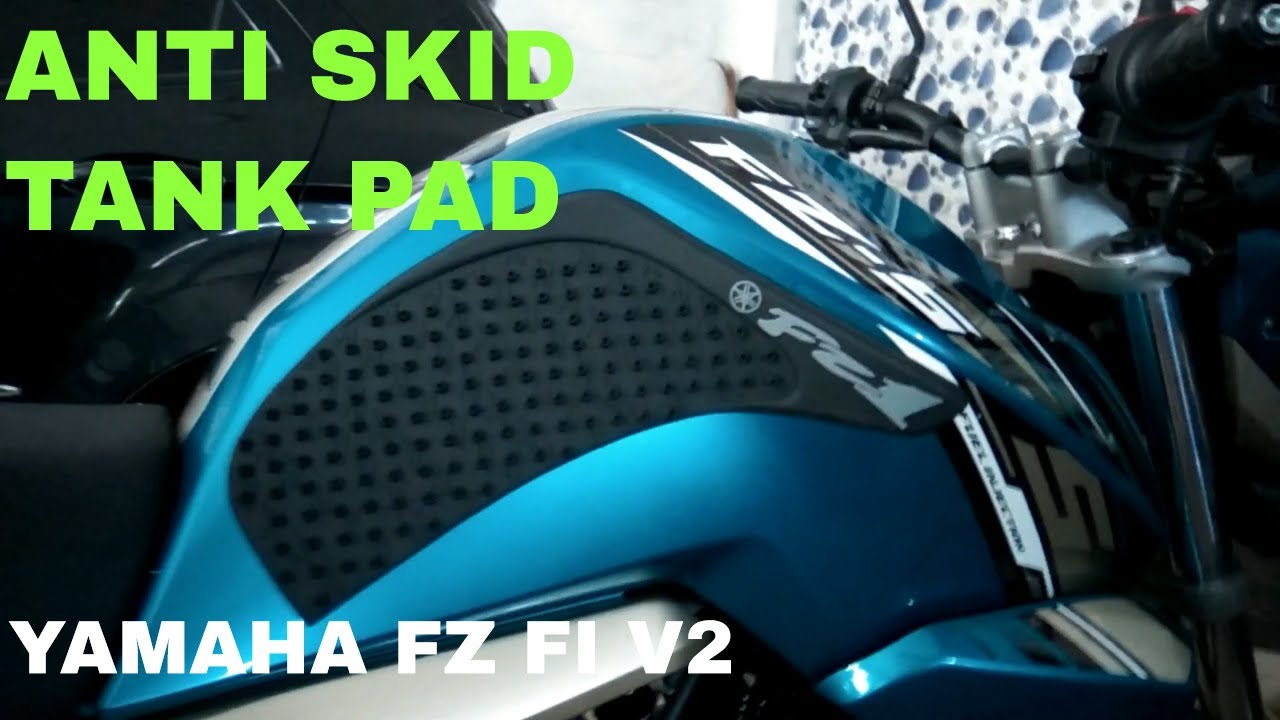 Anti skid tank pad for yamaha fz fiversion 2