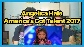 Angelica Hale: 9-Year-Old Singer- America's Got Talent 2017 REACTION