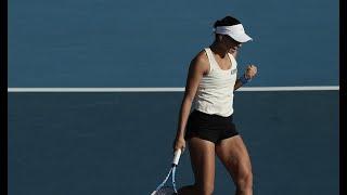 Magda Linette vs. Svetlana Kuznetsova | 2020 Hobart First Round | WTA Highlights