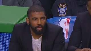 Kyrie Irving Can't Believe Air Ball By Celtics Teammate! thumbnail