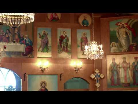 St. Elijah Romanian Orthodox Church Hram Service - Lennard, Manitoba, Canada