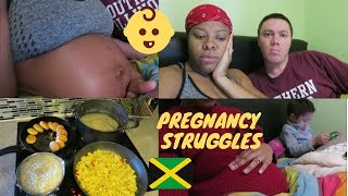 struggling with my pregnancy now when a jamaican cooks