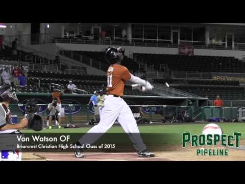 Von Watson Prospect Video, OF, Briarcrest Christian High School Class of 2015