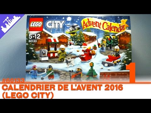 Calendrier Avent Lego City.Calendrier De L Avent Lego City Jour 1 2016 Francais