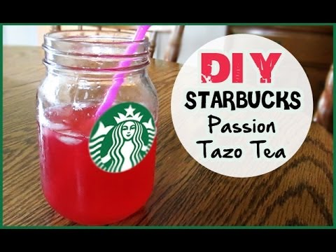 Diy starbucks passion tazo tea youtube
