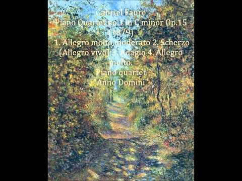 Форе Габриэль - Фортепианный квартет №1 до минор