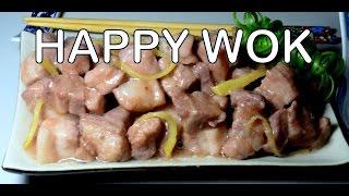 五花肉用蝦醬 Steamed Pork Belly with Shrimp Paste and Ginger