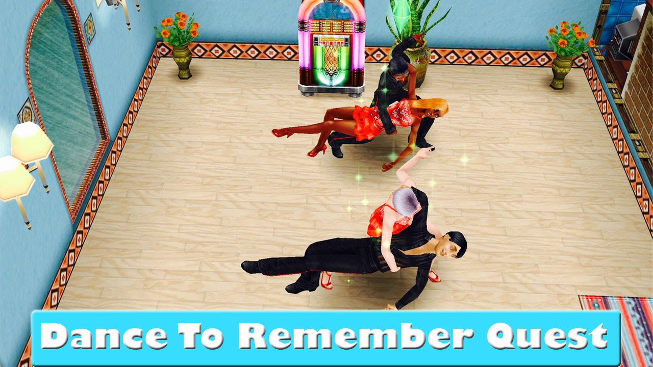 Hairstyles Quest Sims Freeplay : SIMS FREEPLAY DANCE TO REMEMBER QUEST - YouTube