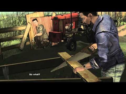 The Walking Dead Episode 1 Part 2 - Downtown Macon Survivor Group