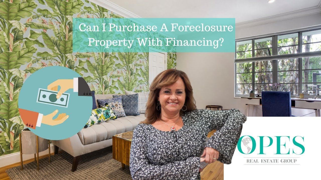 How To Purchase A Foreclosure Property With Financing!