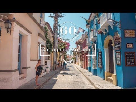 60 Seconds In: Cartagena de Indias, Colombia