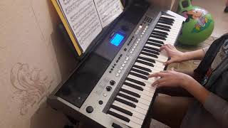 """Аргентинское танго"" - Родригес на синтезаторе yamaha psr e443"