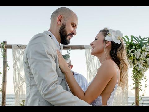 Casamento na praia - o dia mais lindo da nossa vida