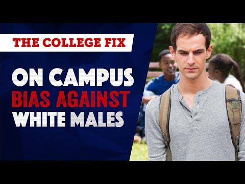 On campus bias against white males: Campus Roundup (Episode 8)