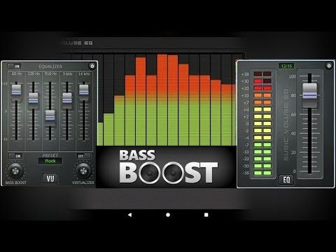 Music Volume Equalizer + Bass Booster The Best Equalizer Apps for Android// Android app store