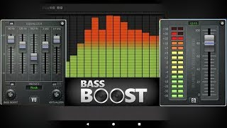 Music Volume Equalizer + Bass Booster The Best Equalizer Apps for Android// Android app store screenshot 1