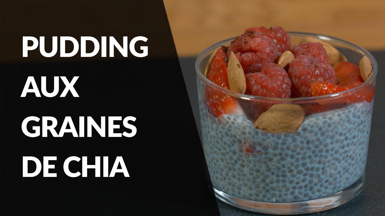 Recette Healthy - Pudding aux graines de Chia - YouTube