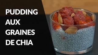 Recette Healthy - Pudding aux graines de Chia