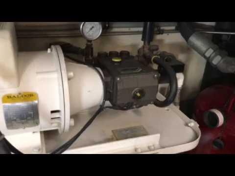Cape Horn 81 engine room 2 yacht
