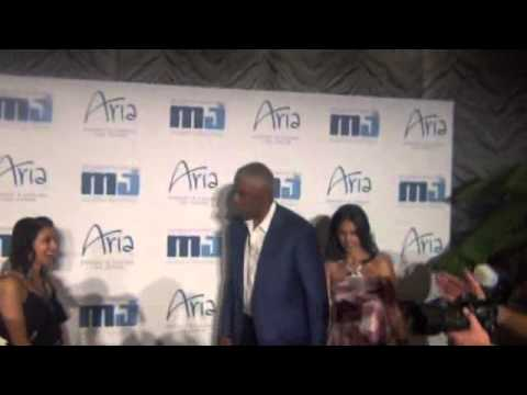 2013 Michael Jordan Celebrity Invitational red carpet Aria Casino Las Vegas