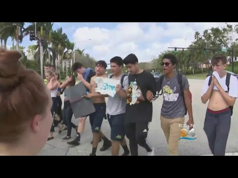 Many South Florida Schools Opting For Walk Outs In Wake Of School Shooting