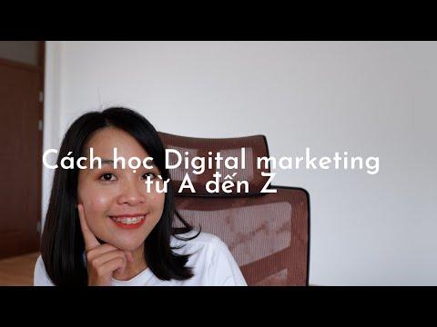 Cách học Digital Marketing từ A đến Z   From a Digital Marketing Manager