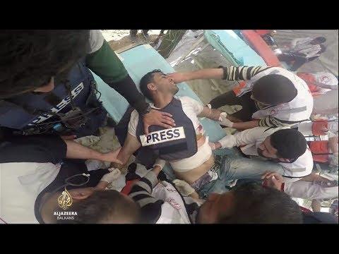 Novinari meta izraelskih snajperista