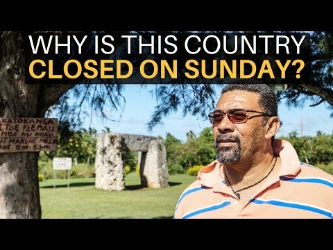 Why is This Country CLOSED ON SUNDAY? (TONGA)