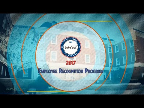Carroll County Employee Recognition Awards 2017