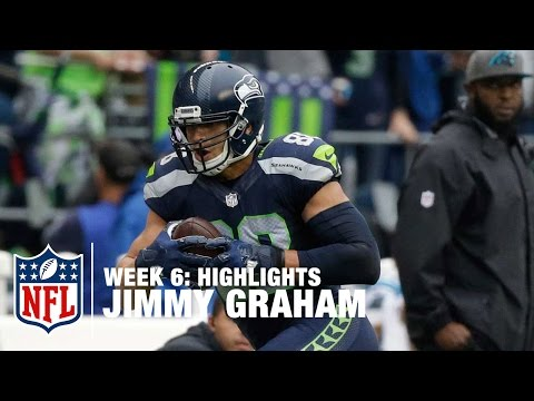 Jimmy Graham Highlights (Week 6) | Panthers vs. Seahawks | NFL