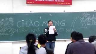 """Thành Trung tung bản HIT mùa Tri Ân """"Cô Giáo Em"""" tặng thầy cô giáo nhân 20-11-2013"""