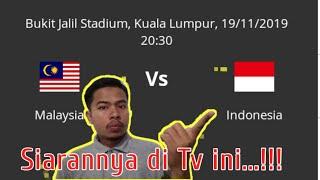 Jadwal Bola hari ini live TV | Indonesia vs Malaysia
