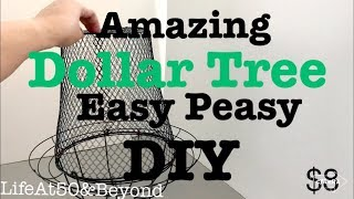 AMAZING DOLLAR TREE DIY WREATH LANTERN   EASY PEASY ONLY $8