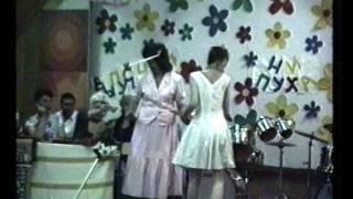 Выпускной вечер 1991 год. 17 школа. г.Тирасполь
