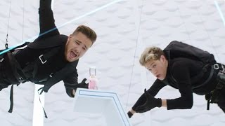 """One Direction """"You & I"""" Fragrance Commercial Spoofs Mission Impossible!"""